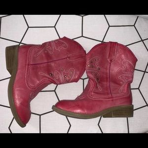 Cherokee girls cowgirl boots